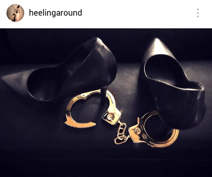 Gold Handcuffs 2