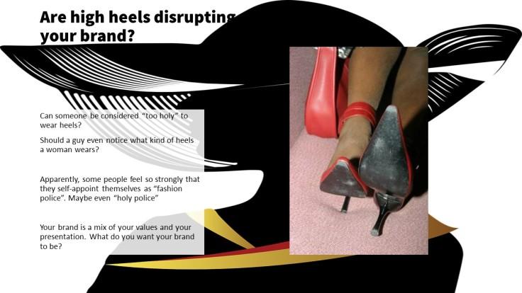 disrutpive heels 3